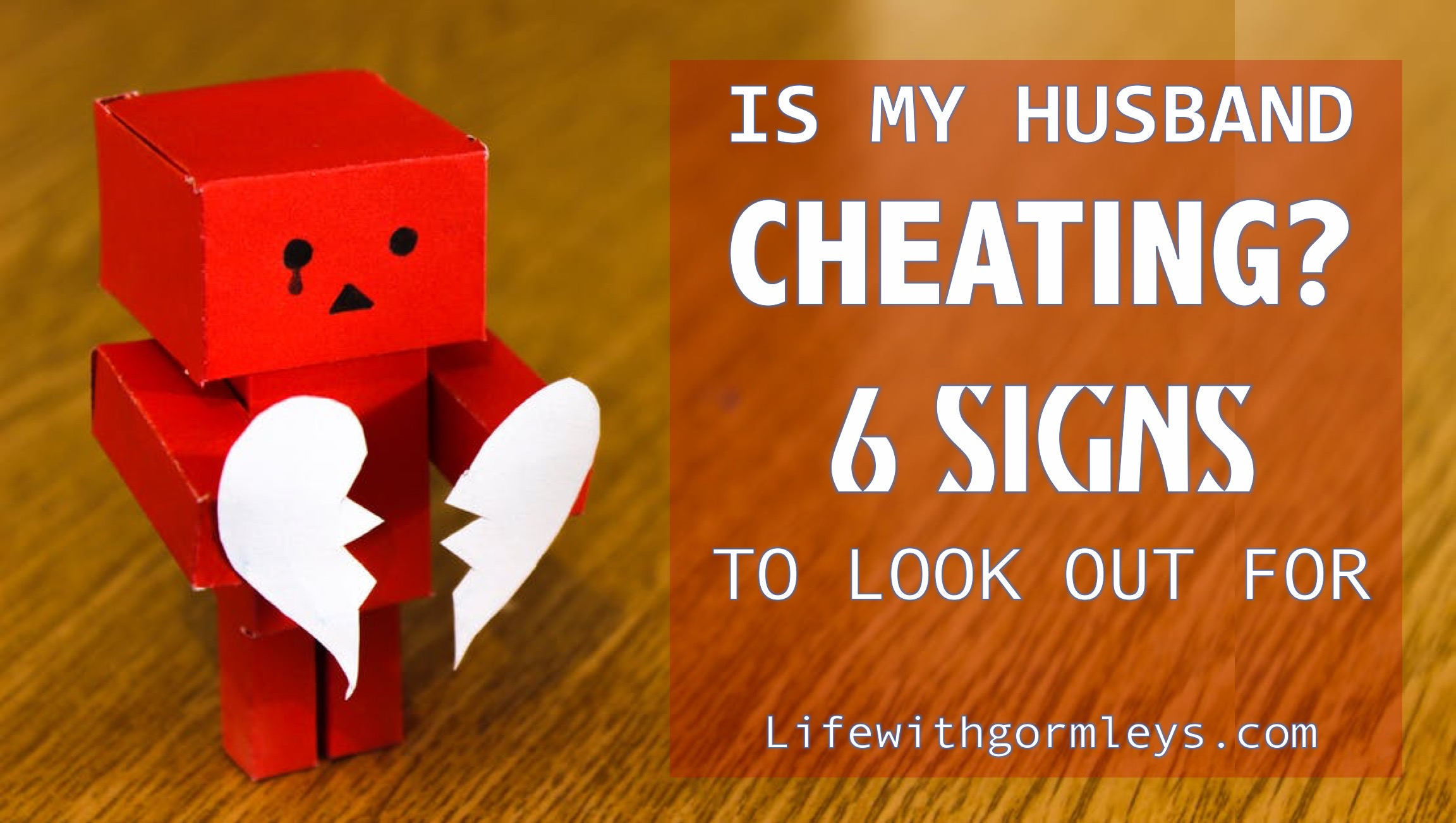 how to know if your husband is cheating on you